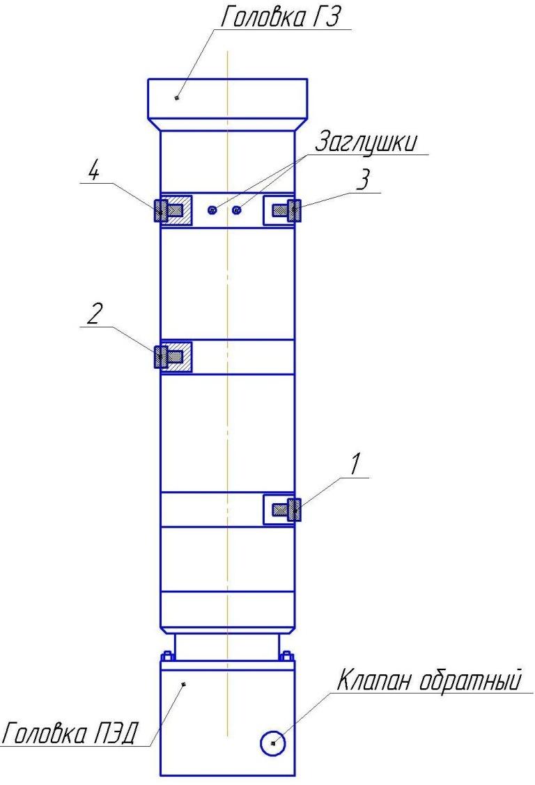 Гидрозащита ГТМА5, ГКТМА5, ГТ1МА5, ГКТ1МА5. 5, 5А и 6 габаритов модификаций ЛД (Э) (ОУ)