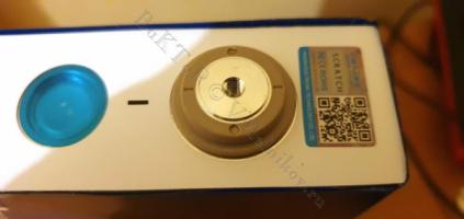 Отрицательная клемма нового LiFePO4 аккумулятора