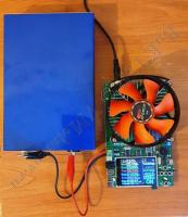 LiFePO4 аккумулятор под нагрузкой 3А