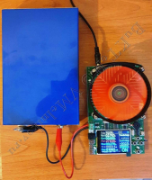 LiFePO4 аккумулятор под нагрузкой 10А