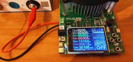 LiFePO4 аккумулятор без нагрузки, полная отданная емкость 30,1А*ч
