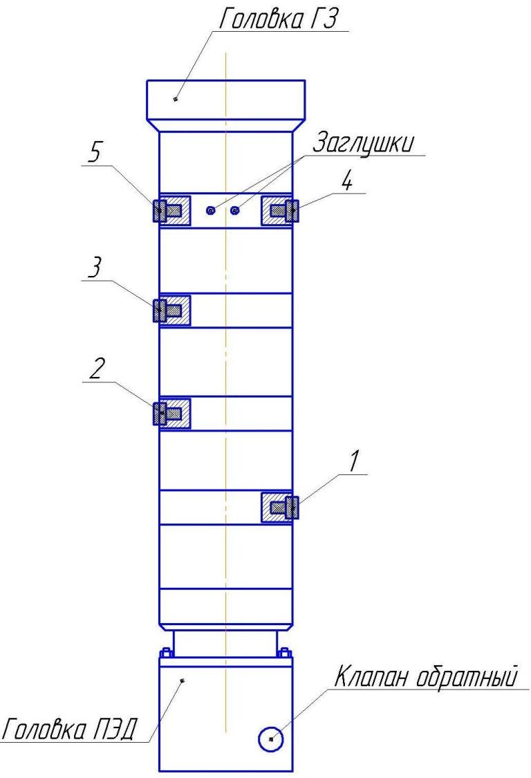 Гидрозащита ГТМА5, ГКТМА5, ГТ1МА5, ГКТ1МА5 ЛДД (Э) (ОУ) 5, 5А и 6 габаритов