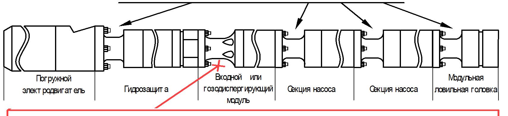 Схема установки протектолайзеров