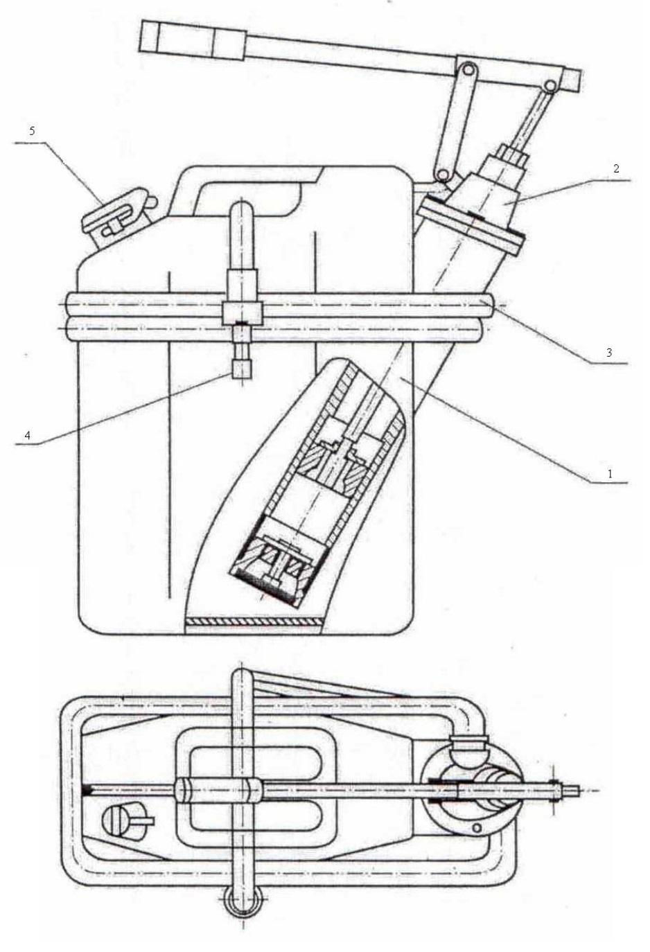 Заправочный насос МЦ2 для опрессовки ПЭД и ГЗ УЭЦН