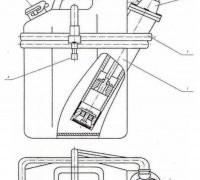 Заправочный насос МЦ2 (канистра для опрессовки ПЭД и гидрозащиты УЭЦН) с штуцером