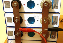 Разряд четырех банок LiFePO4 при помощи электронной нагрузки ATORCH DL24