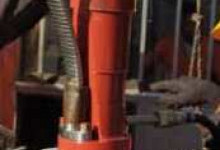 Монтаж токоввода (кабельной линии УЭЦН)